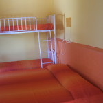 Yellow Apartment: Bedroom with 1 double bed or 2 single bed + a bunk bed