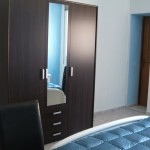 Appartamento Rosa: camera da letto con letti a castello